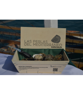 25 PIECES SPECIAL OYSTERS BOX